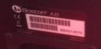 ремонт Boston A25
