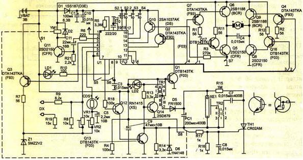 конденсаторе фотовспышки