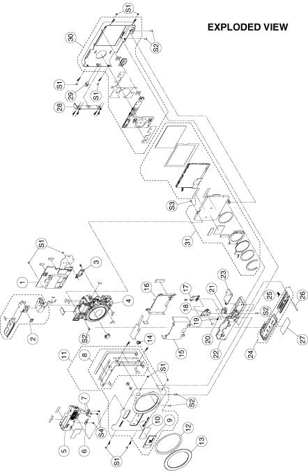 Ремонт фотоаппаратов Casio EX
